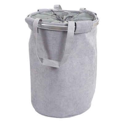 MCW Wäschesack »MCW-C34-S«, Vier Streben für zusätzliche Stabilität, Steht von allein, Henkel zum Tragen