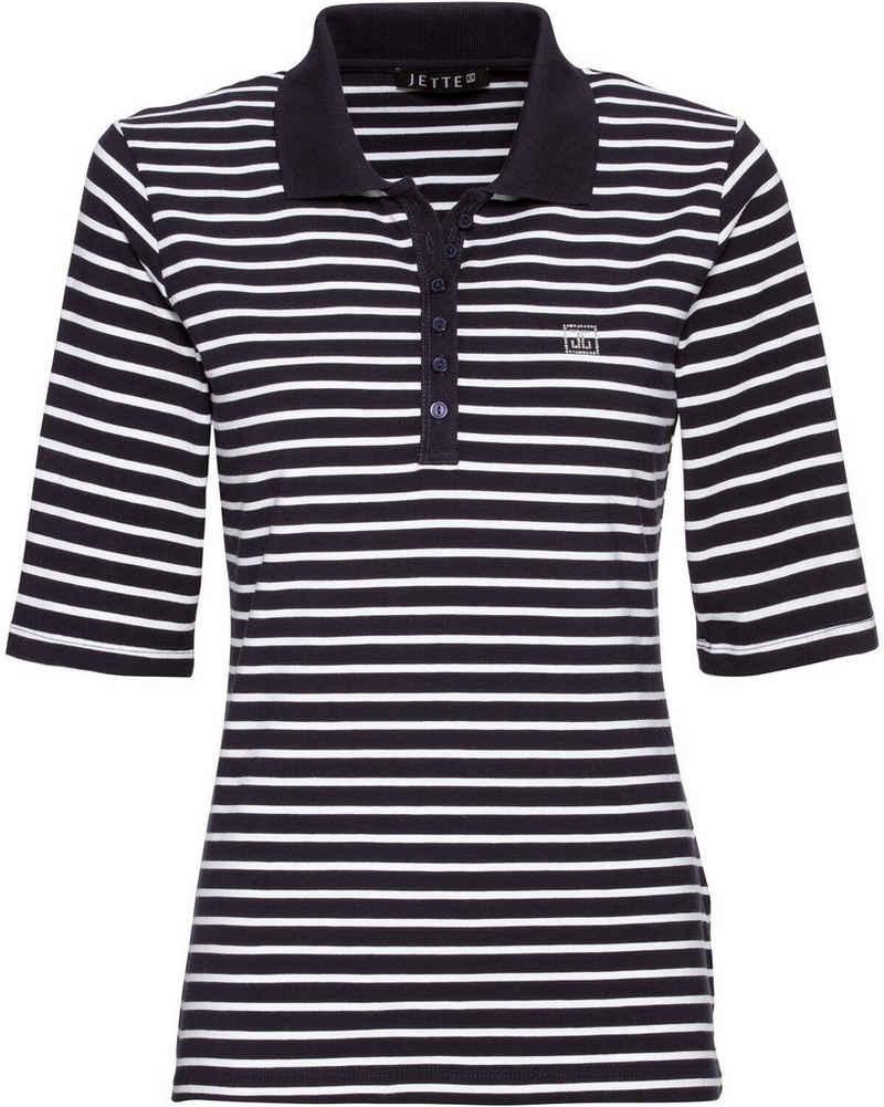 JETTE Poloshirt »Jersey-Poloshirt«