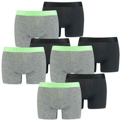 Levi's® Boxershorts »Injected Slub 8er Pack« (8 Stück) mit Logowebbund