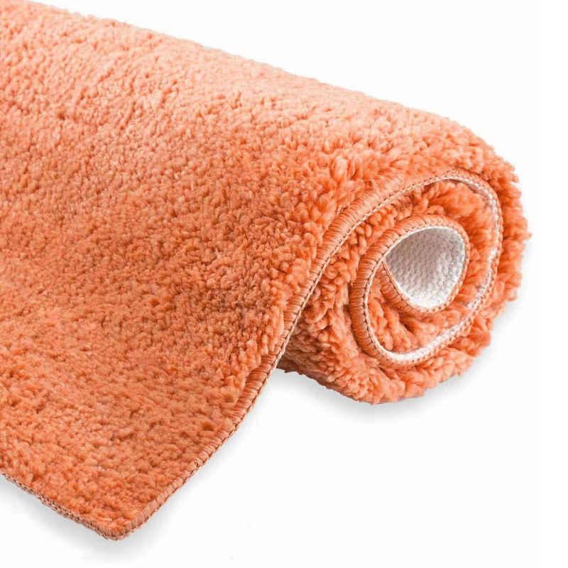 Badematte »etérea Badteppich Badematte WC-Vorleger Vicky« etérea Himmlische Qualität, Höhe 20 mm, rutschhemmend beschichtet, fußbodenheizungsgeeignet, schnell trocknend, strapazierfähig, rutschhemmender Rücken