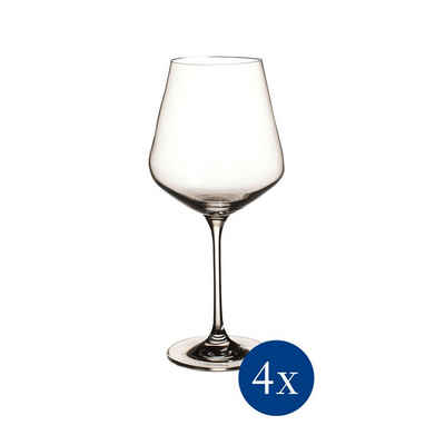 Villeroy & Boch Rotweinglas »La Divina Rotweinglas 4er Set«, Glas