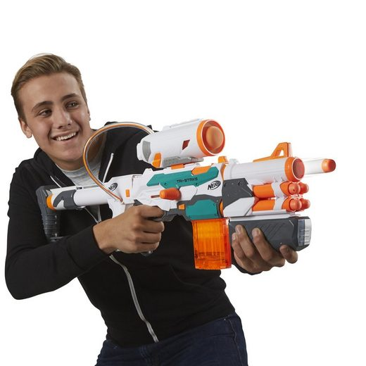 Hasbro Blaster »Nerf N-Strike Modulus Tri-Strike« (3-tlg)