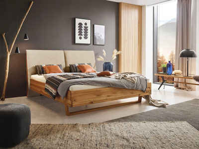 ADA premium Massivholzbett »Gillian«, wahlweise mit Matratze und Lattenrost