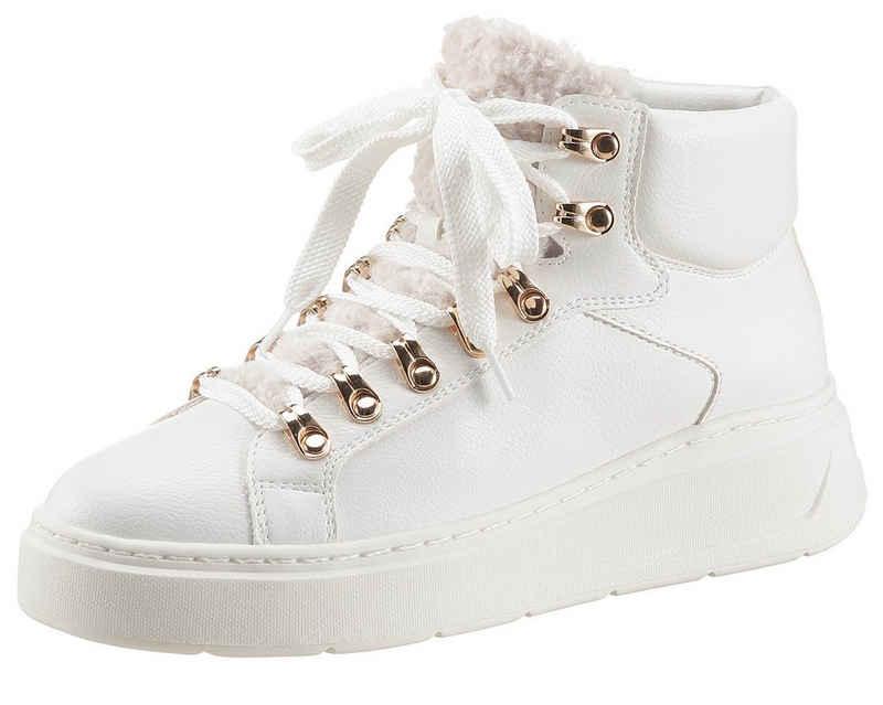 Tamaris Sneaker mit Metallic-Details