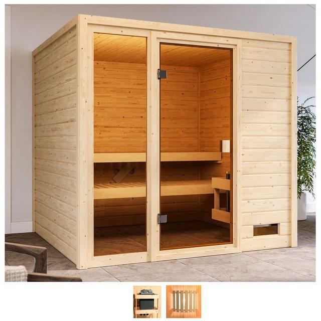 Saunen und Zubehör - Karibu Sauna »Jackie«, BxTxH 196 x 196 x 187 cm, 38 mm, ohne Ofen  - Onlineshop OTTO