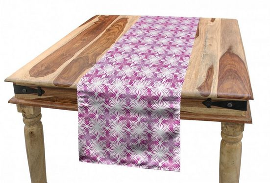 Abakuhaus Tischläufer »Esszimmer Küche Rechteckiger Dekorativer Tischläufer«, Abstrakt wirbelnde Patchwork
