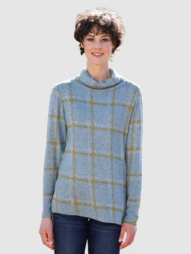 Dress In Shirt mit trendigem Checkdesign