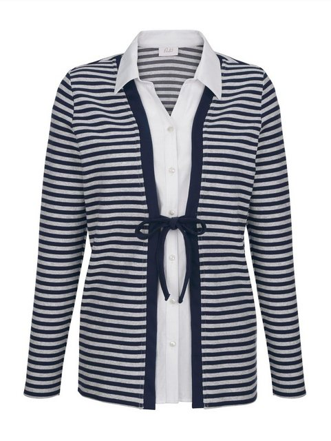 Paola 2-in-1 Shirtjacke mit Bluseneinsatz | Bekleidung > Shirts > 2-in-1 Shirts | Paola