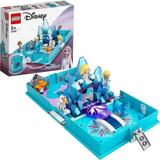 LEGO® Konstruktionsspielsteine »Elsas Märchenbuch (43189), LEGO® Disney Frozen«, (125 St), Made in Europe