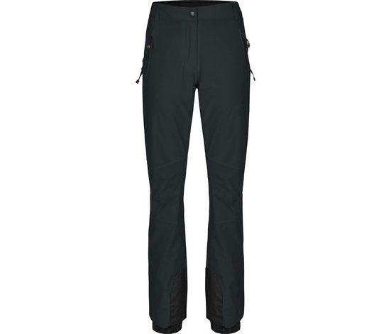 Bergson Skihose »ICE Slim« Damen Skihose, wattiert, 20000 mm Wasserssäule, Kurzgrößen, dunkel grau