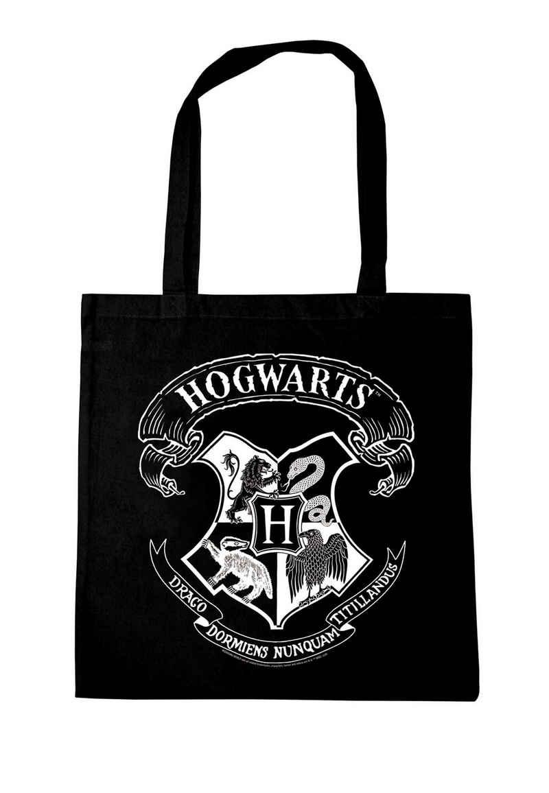 LOGOSHIRT Henkeltasche, mit schickem Hogwarts-Logo