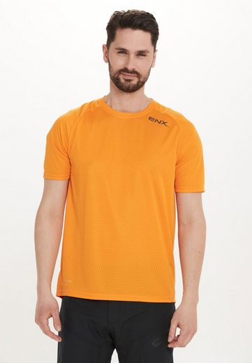 ENDURANCE Trikot »Janus M Bike Shirt« mit Mesheinsatz aus Bambus-Polyester-Material
