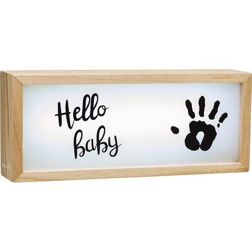 BABY ART Bilderrahmen »Holz-Lichtbox My Baby Lightbox«
