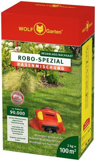 WOLF-GARTEN Nachsaatrasen »ROBO-Spezial«, in 2 Verpackungsgrößen