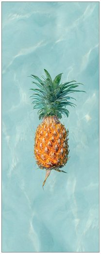 MySpotti Spritzschutz »fresh F1 Happy Pineapple«, 100 x 255 cm