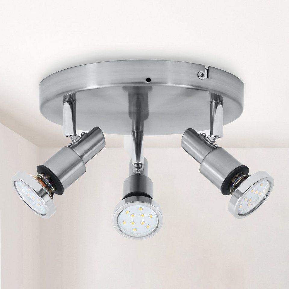 B.K.Licht LED Deckenspot »Aurel«, LED Deckenstrahler Badlampe IP20 ...