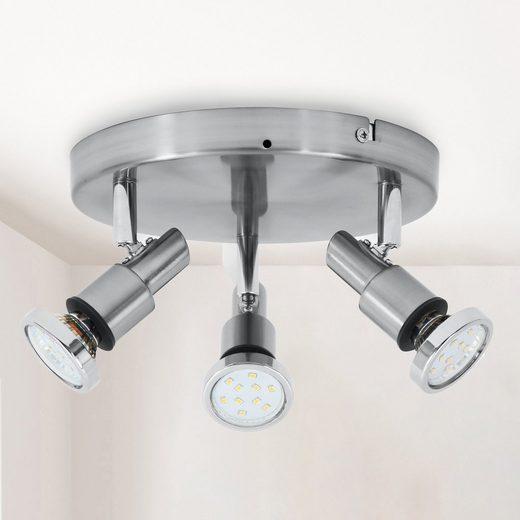 B.K.Licht LED Deckenspot »Aurel«, LED Deckenstrahler Badlampe IP44 Badezimmer Deckenleuchte Lampe GU10
