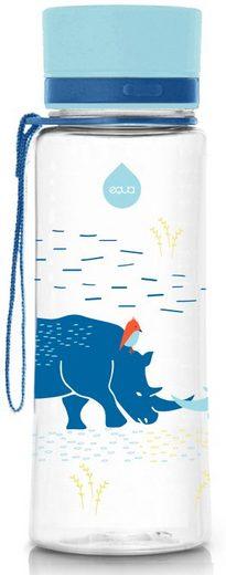 equa Trinkflasche »Kids Rhino«, Tritankunststoff, Inhalt 600 ml