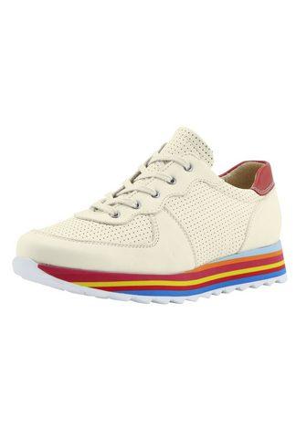 heine Sneaker su platus bunter Sohle