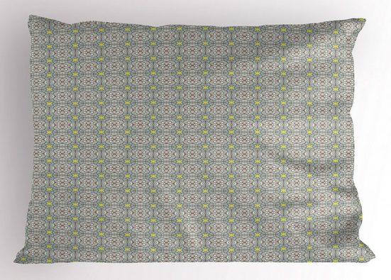 Abakuhaus Kissenbezug »Dekorativer Standard King Size Gedruckter Kissenbezug,«, Jahrgang Pastel Abstract Mosaik-Fliesen