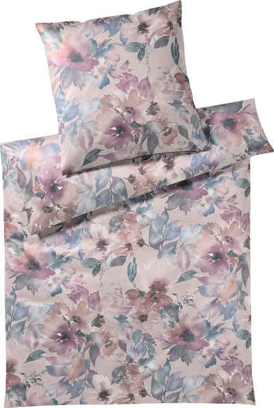 Bettwäsche »Bloom Jersey«, Elegante, angenehmes Hautgefühl