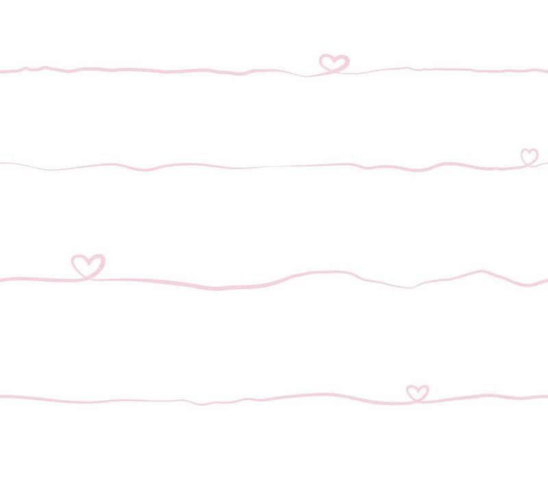 A.S. Création Vliestapete »Little Love«, glatt, Baby- und Kinderzimmertapete
