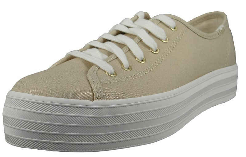 Keds »WF65082 Triple Kick Metallic Gold« Sneaker