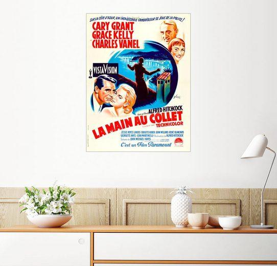 Posterlounge Wandbild, Über den Dächern von Nizza (französisch)