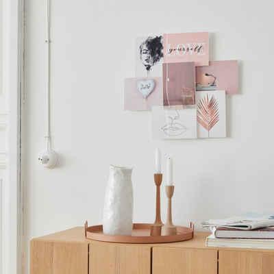 my home Bilderrahmen Collage, für 7 Bilder, Fotorahmen, Bildformat 13x18 cm