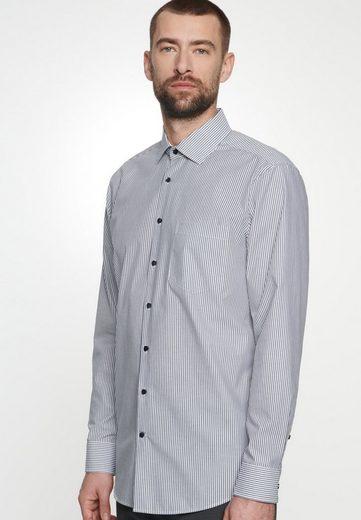 Schlussverkauf seidensticker Businesshemd »Regular« Regular Langarm Kentkragen Streifen