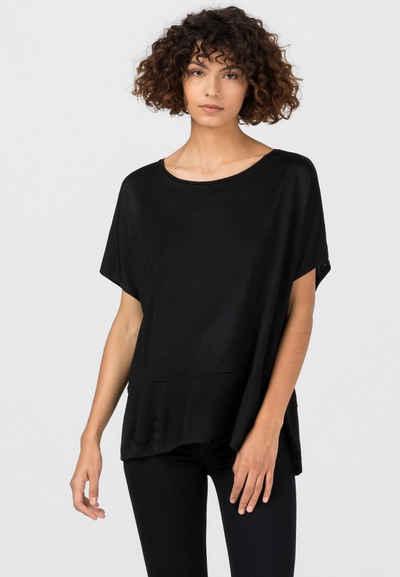HALLHUBER Longshirt »mit Seitenschlitzen«