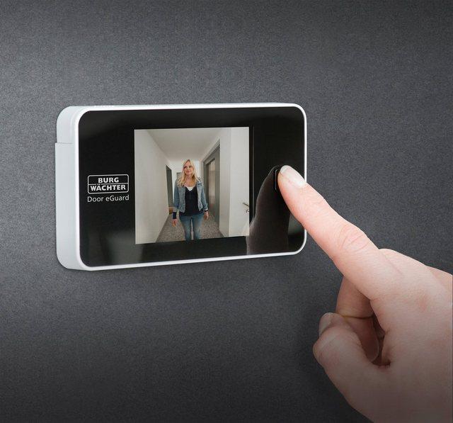 Burg Wächter »Elektronischer Türspion, Door eGuard DG 8100« Digitaler Türspion (Innenbereich, 105 Grad Sichtwinkel)