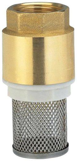 GARDENA Rückschlagventil »07221-20«, Fußventil Messing, 33,3 mm (G 1)-Gewinde