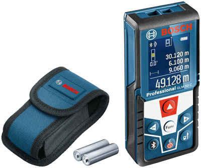 Bosch Professional Lasermessgerät »GLM 50 C Professional«, Staub- und Spritzwasserschutz IP54