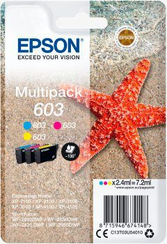 Epson »Multipack 3-colours 603 Ink« Tintenpatrone