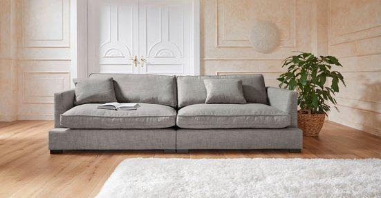 Guido Maria Kretschmer Home&Living Big-Sofa »Annera«, besonders weicher und kuschiliger Sitzkomfort, mit extra tiefen Sitzflächen