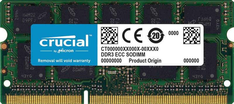 Crucial »8GB DDR3-1600 SODIMM« Laptop-Arbeitsspeicher