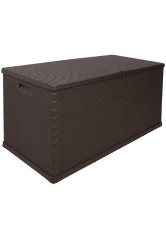 ONDIS24 Dėžė pagalvėlėms »Rattan« 420 Liter Ku...