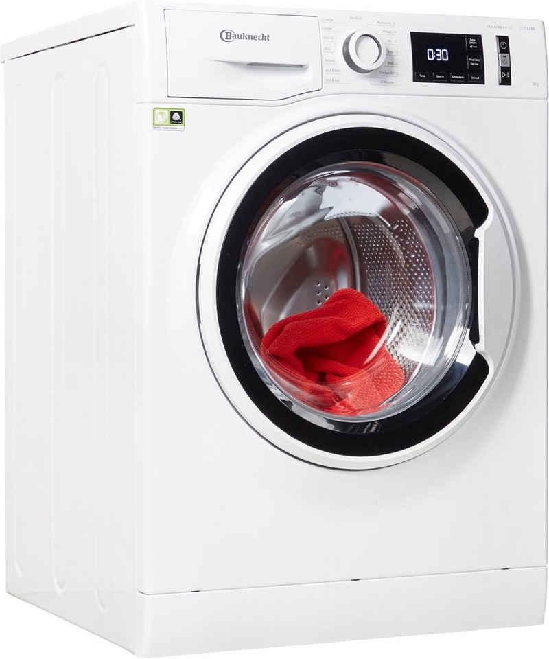 BAUKNECHT Waschmaschine W Active 811 C, 8 kg, 1400 U/min