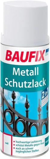 Baufix Metallschutzlack »Weiß«, 0,4 Liter, weiß