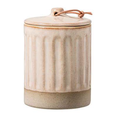 Bloomingville Aufbewahrungsdose »Bloomingville Gefäß mit Deckel«, grün, 350ml, Keramik, Aufbewahrung, Dekoration, dänisches Design
