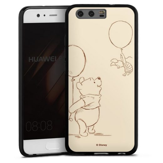 DeinDesign Handyhülle »Winnie & Ferkel« Huawei P10, Hülle Winnie Puuh Disney Offizielles Lizenzprodukt