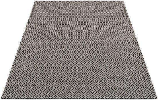 Teppich »Cotton«, Carpet City, rechteckig, Höhe 5 mm, Flachflor, reine Baumwolle, Wohnzimmer