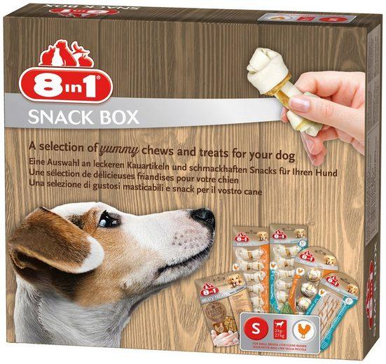 8in1 Hundesnack »Snackbox S«, mit 5 versch. Sorten
