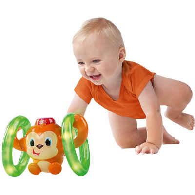 Kids II Krabbelrolle »Bright Starts Leucht- und Roll-Affe«
