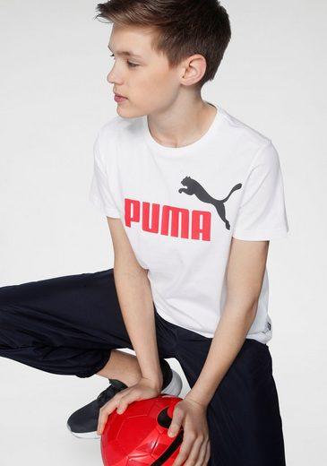 PUMA T-Shirt »ESSENTIAL LOGO TEE BOYS«