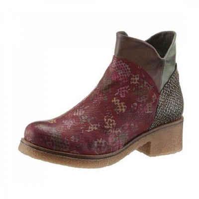 DKODE »Chelsea Boots« Stiefel Dunkelrot