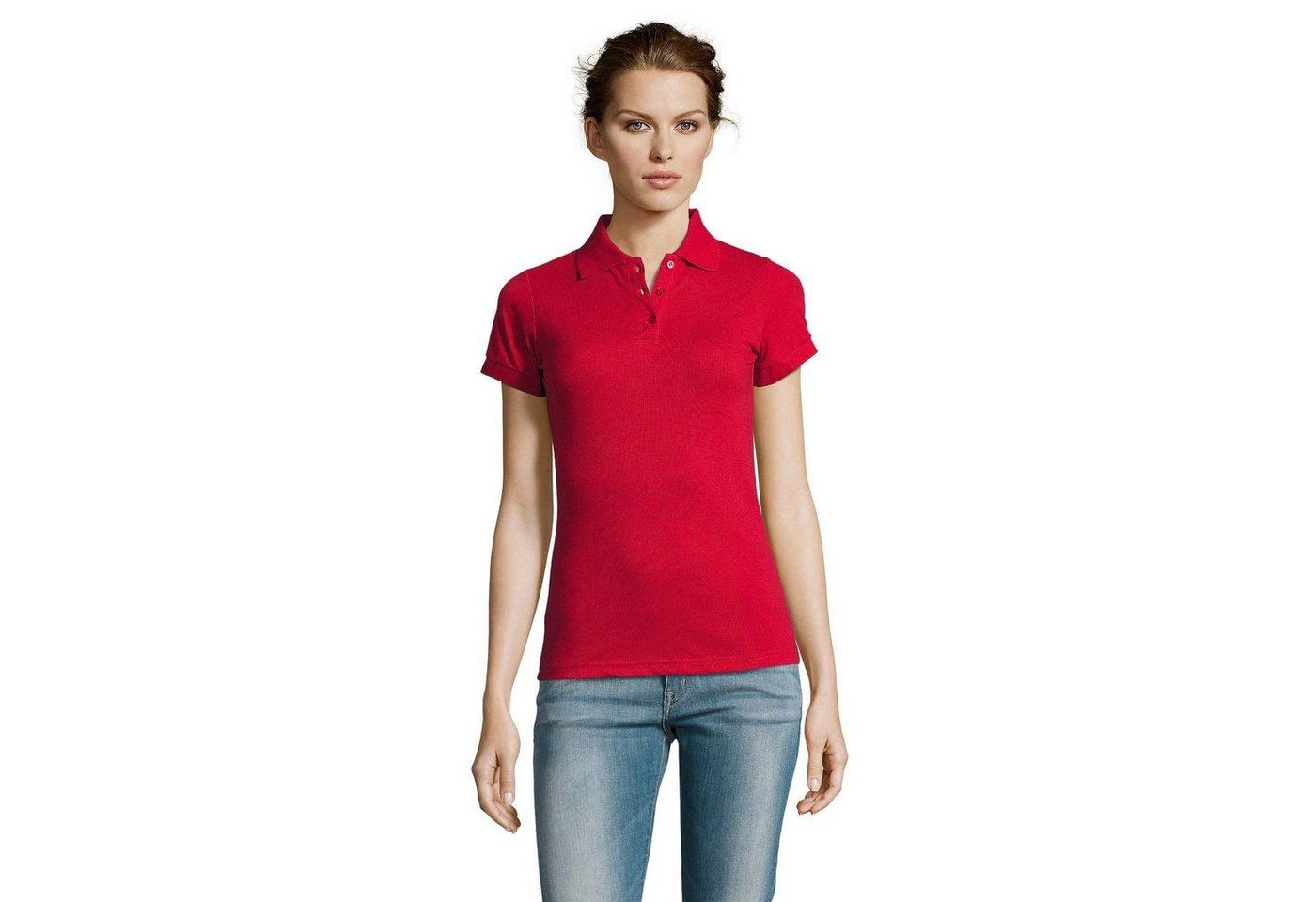 sols -  Poloshirt »Prime Damen Pique Polo-Shirt, Kurzarm«
