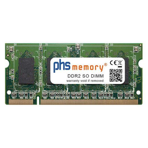 PHS-memory »RAM für Toshiba Equium L300-146« Arbeitsspeicher