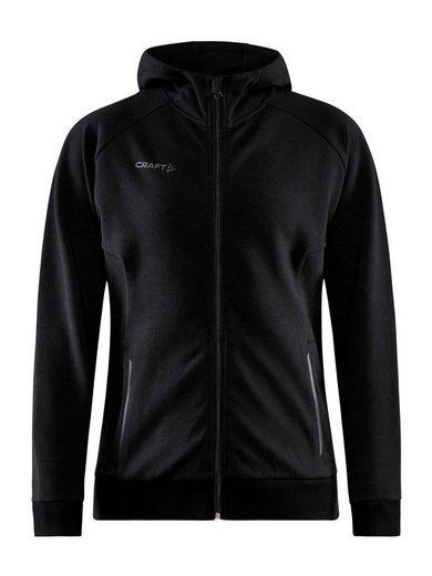 Craft Sweatjacke »Core Full Zip Hood W« (1-tlg)